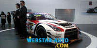 19e salon international de l'automobile d'Alger : la Nissan GT-R GT3 Nismo fait sensation !