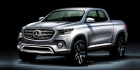 Le Mercedes pick-up dévoilé au Mondial de l'automobile de Paris