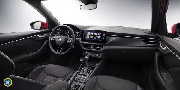 Kamiq : Voici l'intérieur du nouveau SUV de Skoda