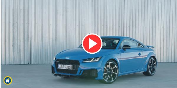Audi dévoile la TT RS restylée [Vidéo]