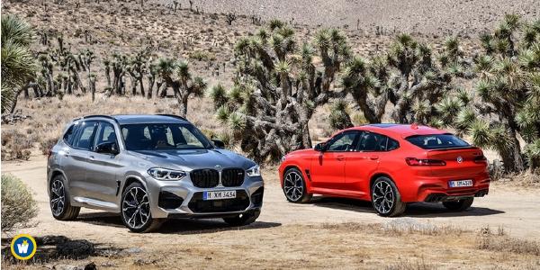 BMW présente les X3 et X4 M
