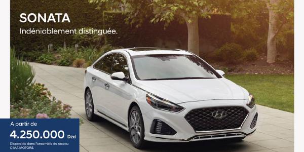 TMC : La Hyundai Sonata est disponible à 4 250 000 DZD [Disponibilité et équipements]
