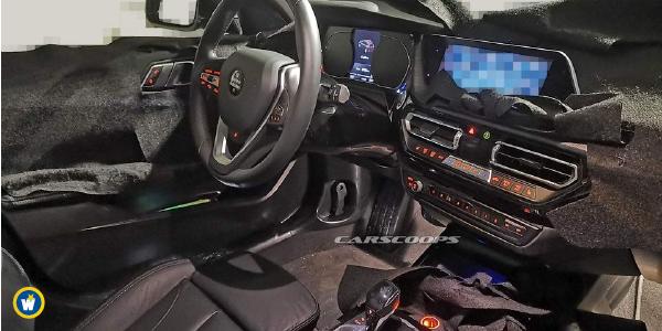 Voici l'intérieur de la future BMW Série 1 !