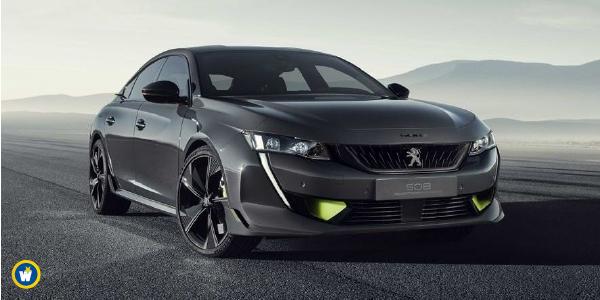 Peugeot annonce une 508 hybride sport